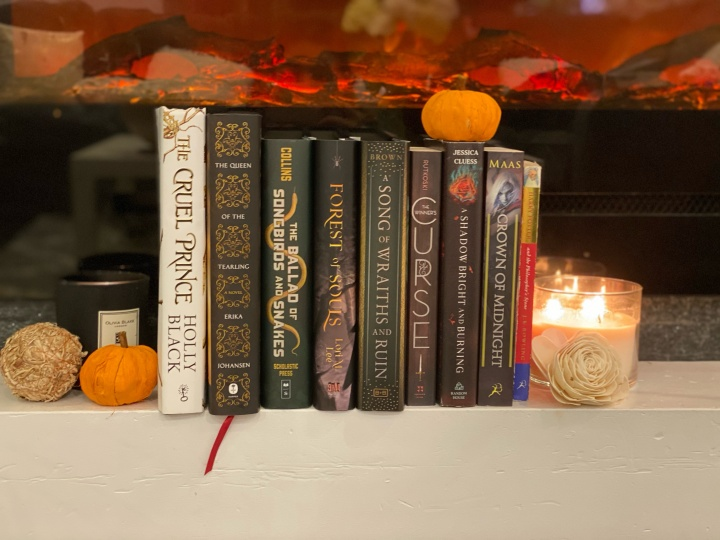 The Cosy Autumn Book Tag